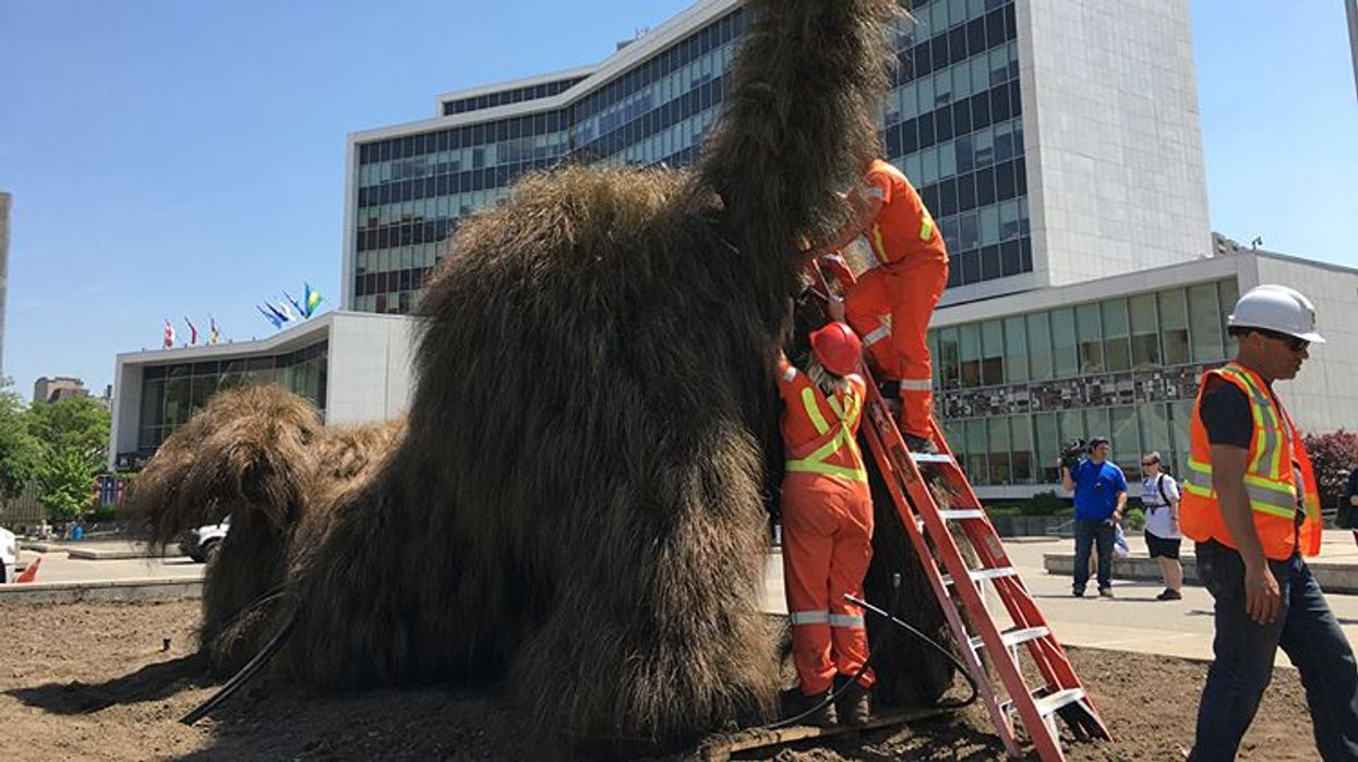The World's Weirdest New Sculpture Is Now In Hamilton And You Have To See It
