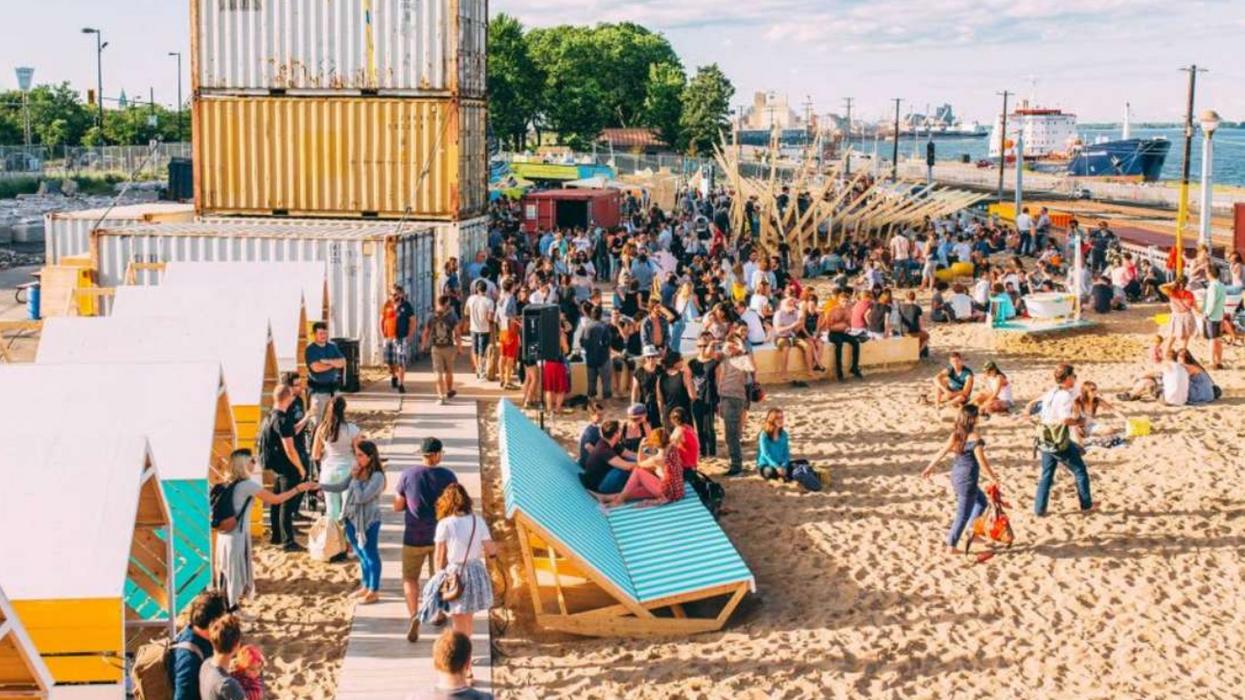 Cette grosse plage gratuite à Montréal est le chilling spot de l'été