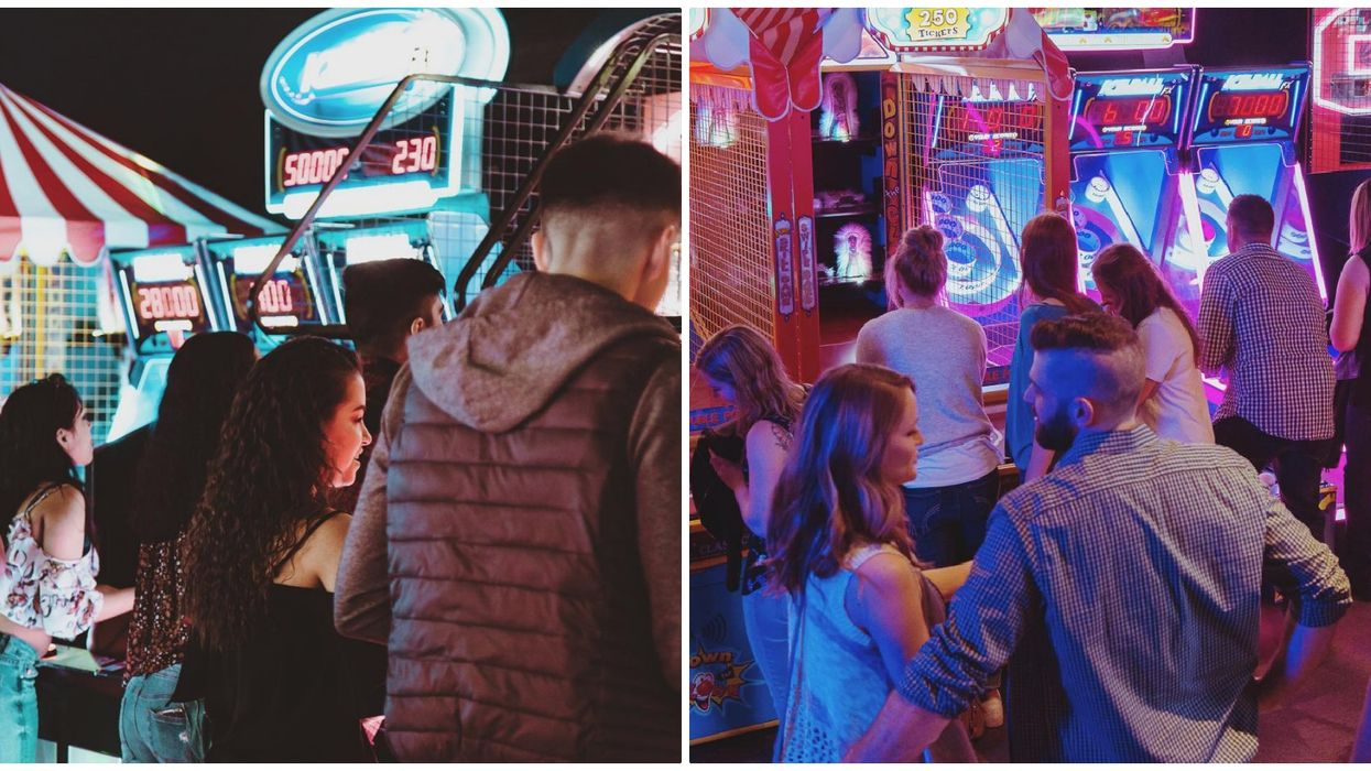 There's An Adult Arcade In Calgary And Yes, You Can Drink