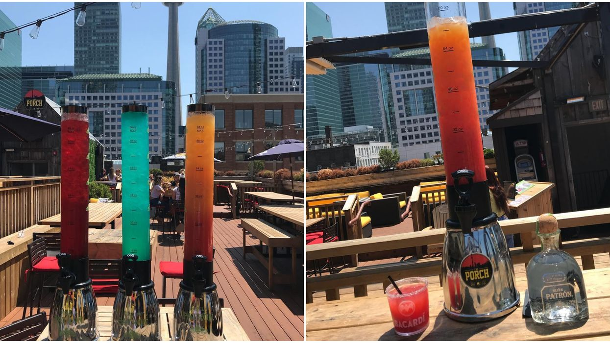This Toronto Bar Now Serves Margarita Towers And You've Got To Try Them ASAP