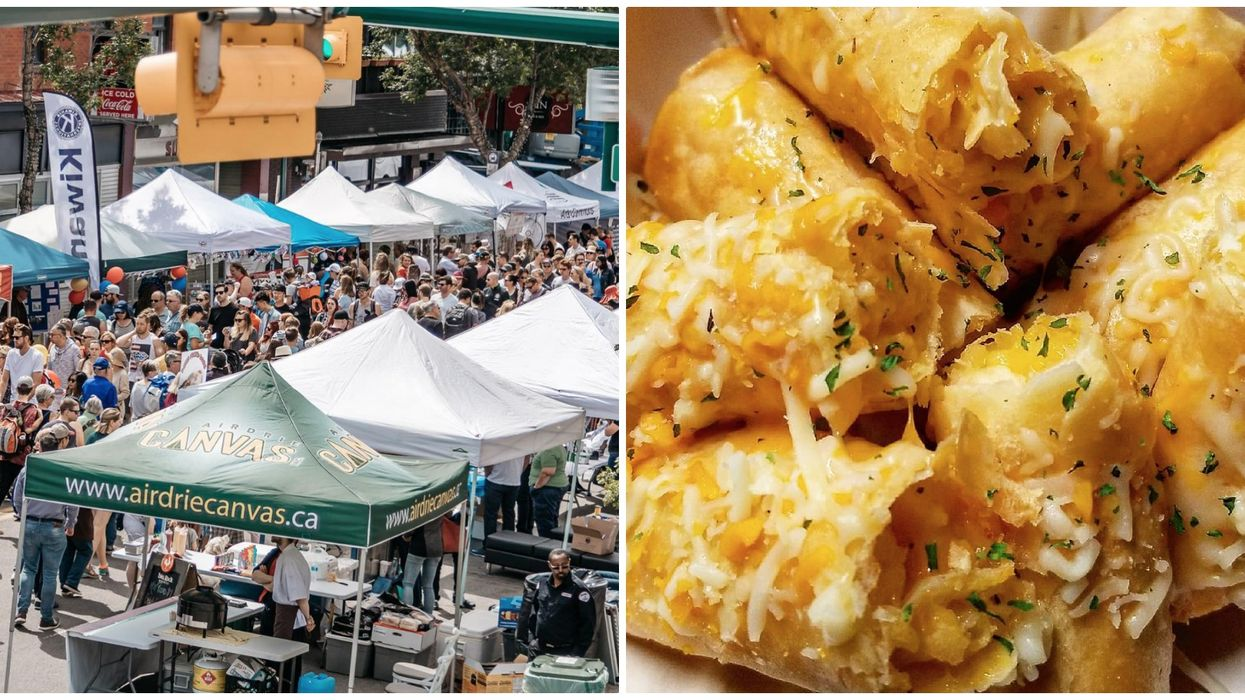 Here Are Some Of The Most Epic Eats Found At This Year's Lilac Festival