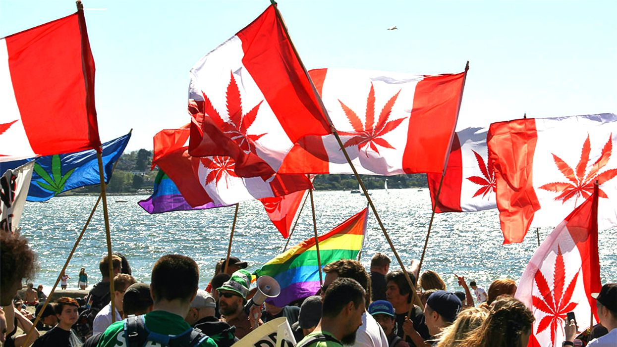 Canada Is Set To Legalize Recreational Marijuana This Week