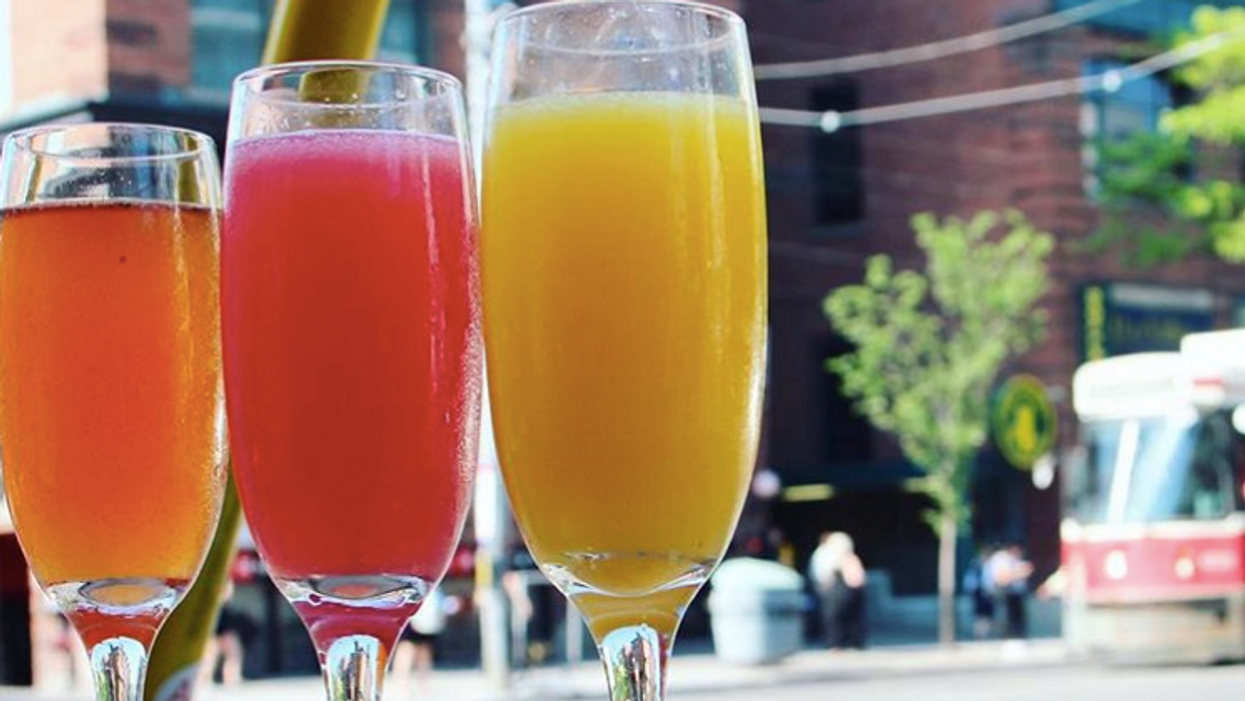 This Toronto Restaurant Has A Serious Mimosa Bar That You Need To Try