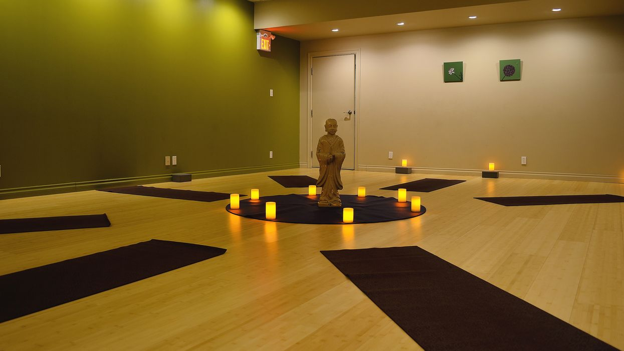 You Can Unwind And Drink Wine While Doing Yoga At This Studio In Toronto