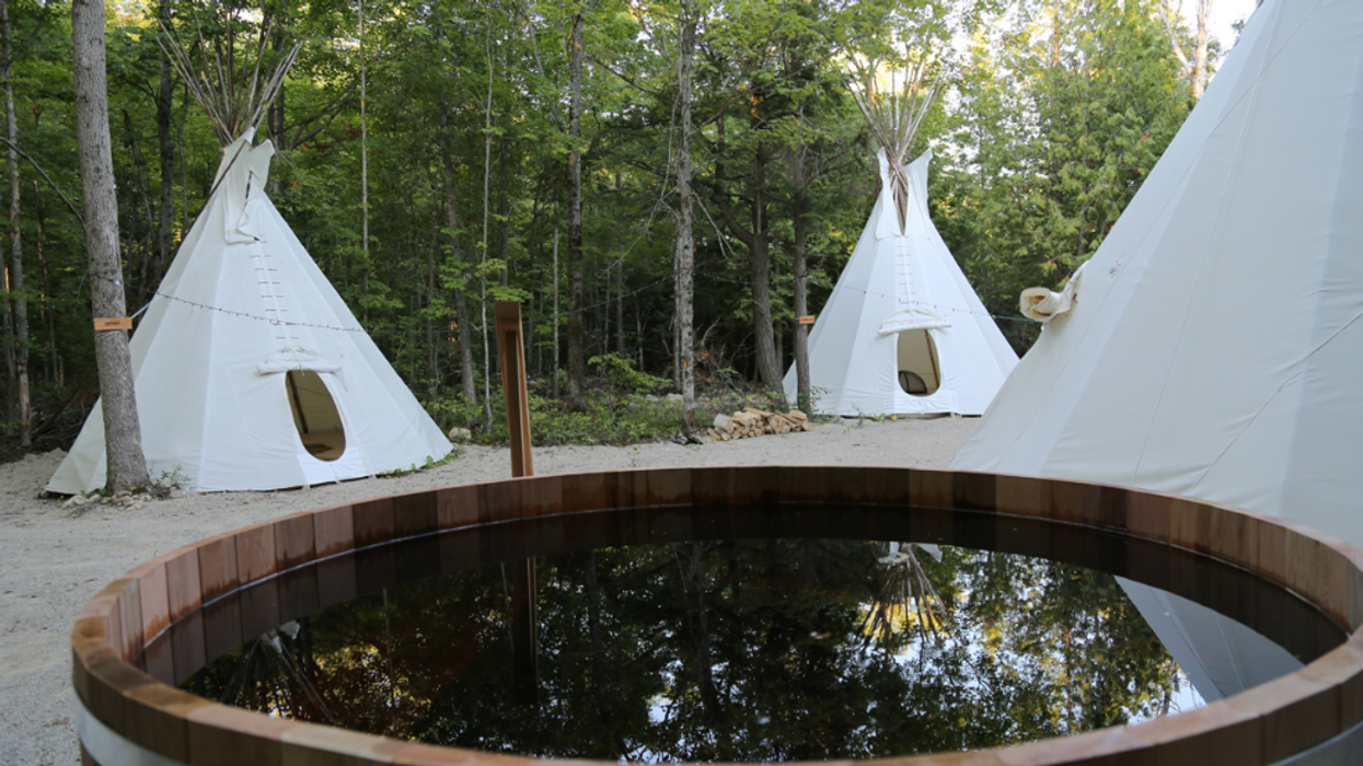 You Can Stay In A Unique Tipi Village In Ontario This Summer For A Relaxing Getaway