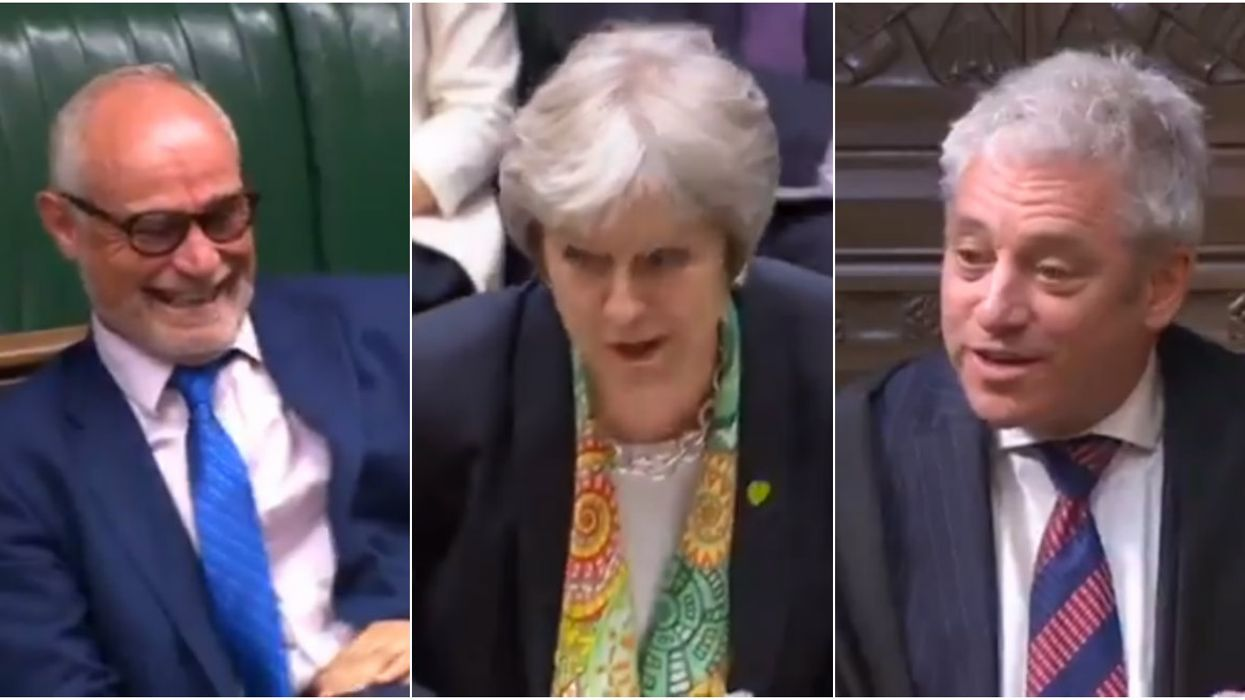 The UK Parliament Can't Stop Laughing During Their Game Of Kiss, Marry With Trump & Trudeau (Video)