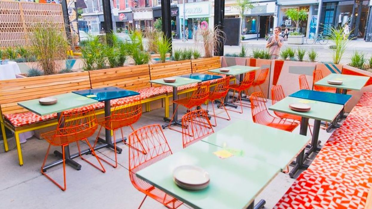 Nando's Queen West Patio Has Just Opened For The Summer And The New Drink Menu Looks Hype