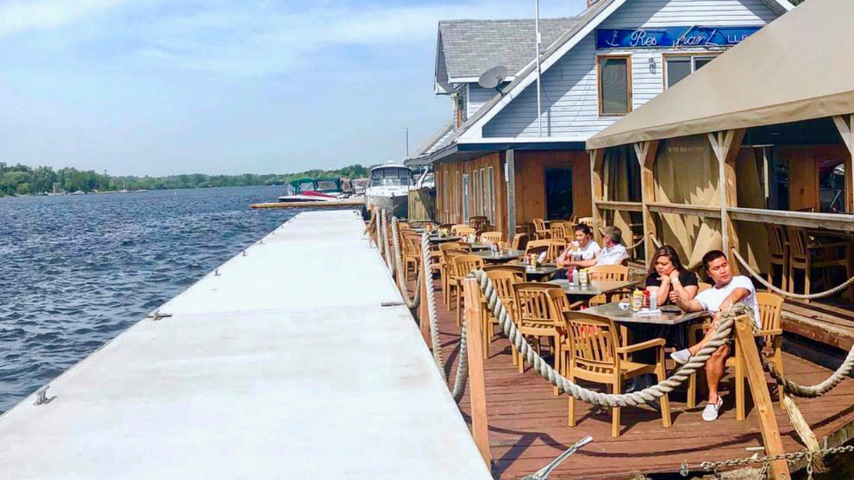You Have To Day Drink At This Patio That Floats On A River In Ottawa