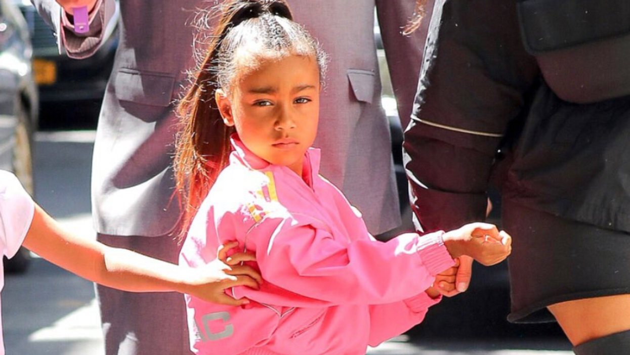 Kim Kardashian West Is Under Fire For Daughter North West's Hair