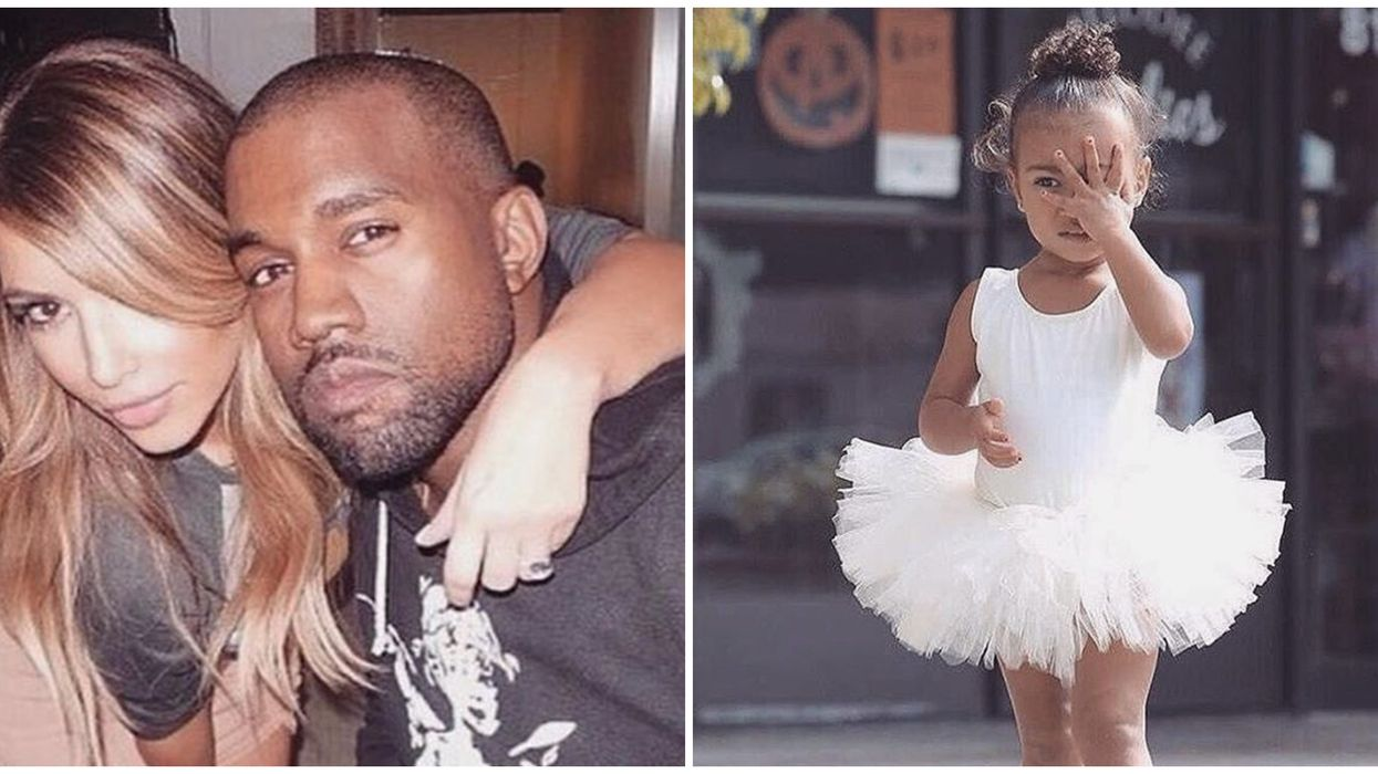North West Threw A Tantrum On Her Birthday And Kanye Did Not Look Happy About It