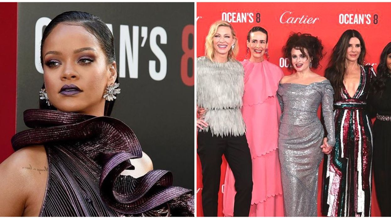 Rihanna Just Shaded One Of Her Costars From Ocean's 8 And It's Everything
