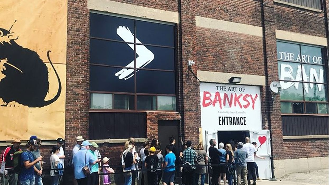People Are Pissed Off About Toronto's New Banksy Exhibit, Here's Why