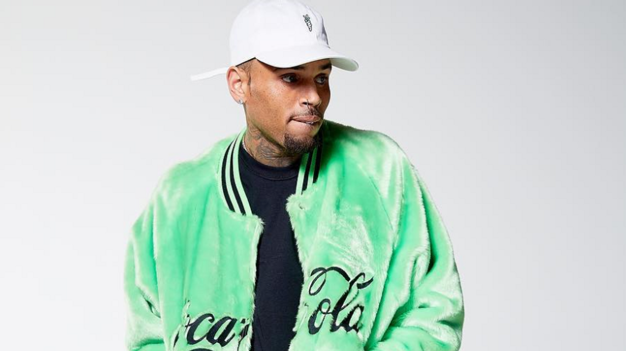 Chris Brown Was Just Served A Restraining Order By A Woman He Claims He Never Met