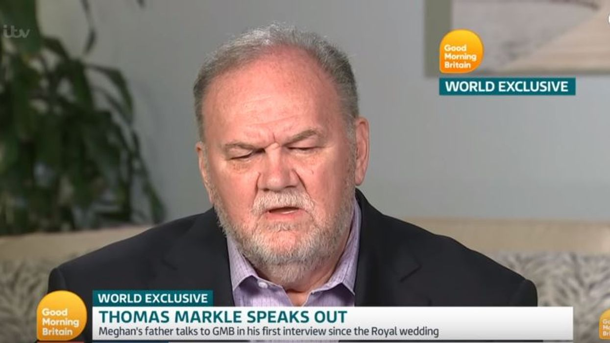 People Are Accusing Meghan Markle's Father Thomas Of Being Drunk During His Recent Interview