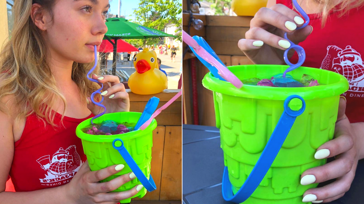This Ottawa Spot Now Serves Sangria Beach Buckets That Are Perfect For Summer