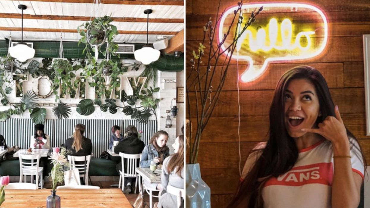 Ce nouveau restaurant de style « jardin intérieur » à Montréal doit être sur ta bucket list