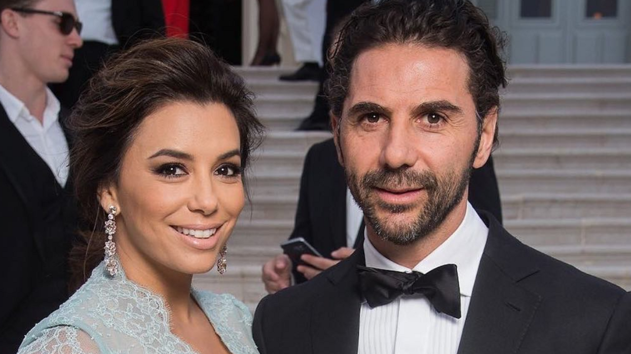 Eva Longoria Gave Birth And Here's The First Photo Of Her Son