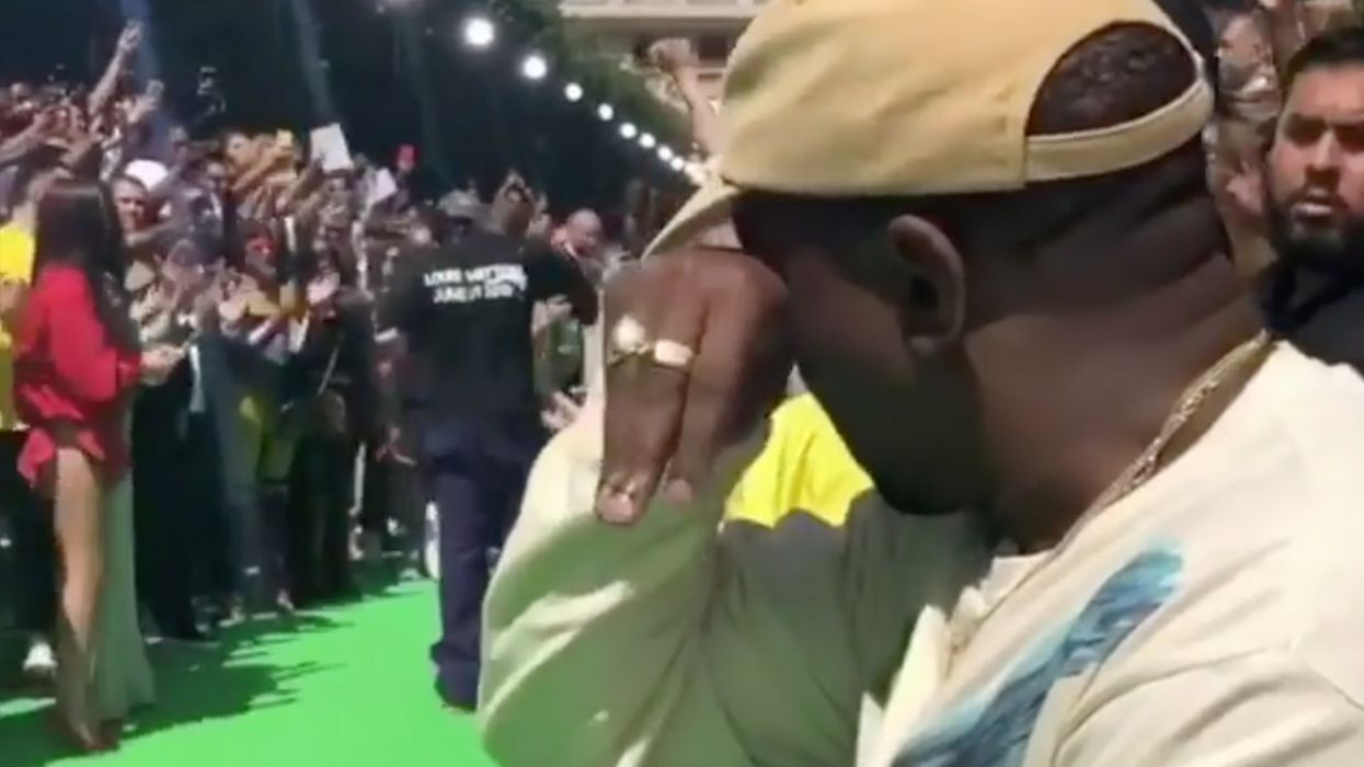 Kanye West Has An Emotional Breakdown At Paris Fashion Week, Here's What Happened (VIDEO)