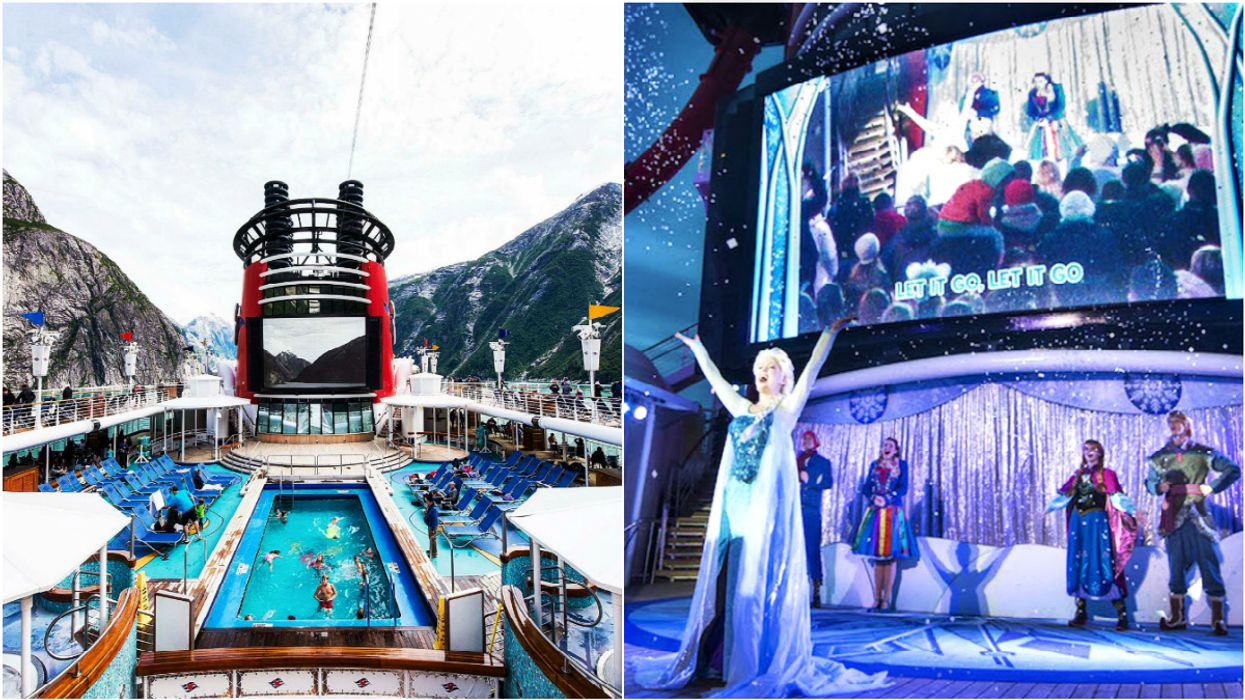 'Frozen'-Themed Disney Cruises Are Set To Sail From Canada This Year
