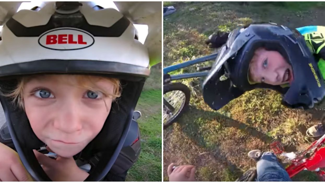 8-Year-Old BC Kid Wins GoPro Award For His Hilarious BMX Video