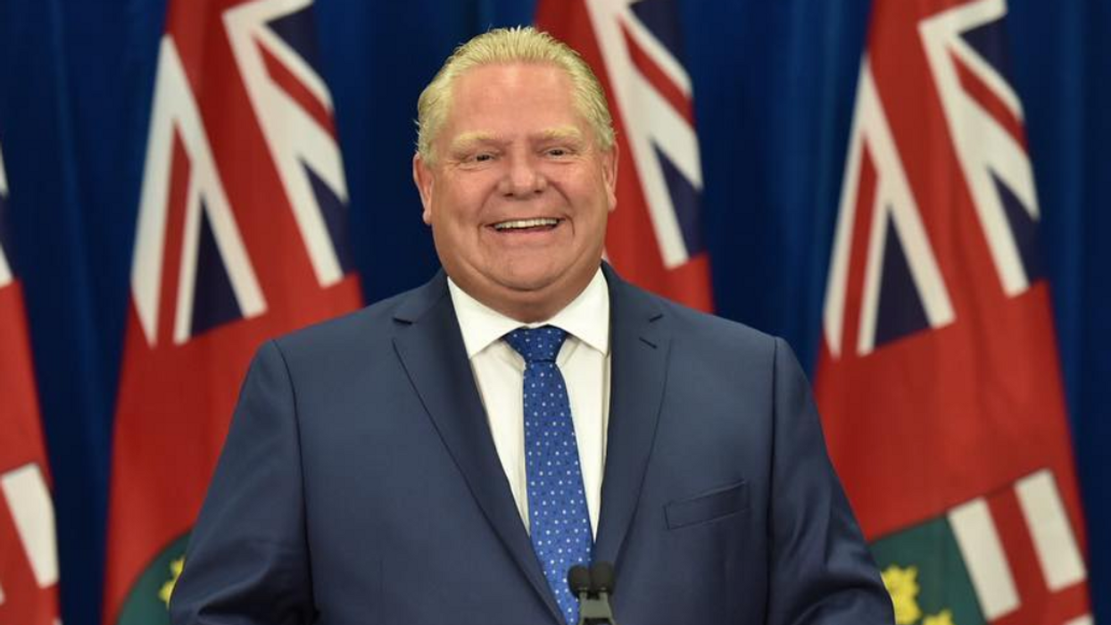 Doug Ford Skipped Yesterday's Pride Parade In Toronto And Here's Why And What He Did Instead