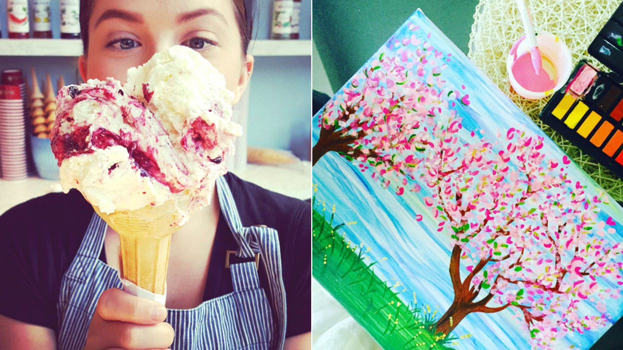 Ice Cream Paint Night Is A Thing In Ottawa And It's Completely Free
