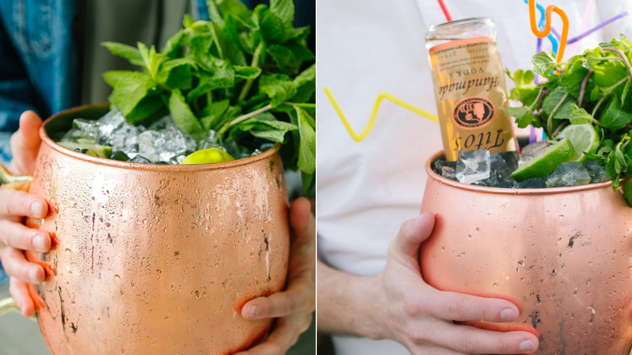 This Toronto Spot Now Serves Giant Cocktails That You've Got To Try ASAP