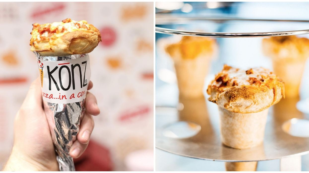 You Can Get Pizza In A Cone At This Edmonton Spot
