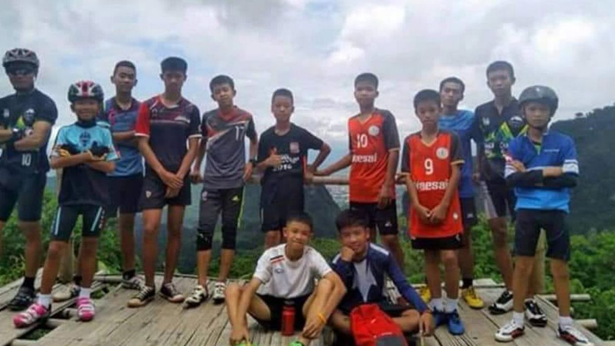 Everything You Need To Know About The 12 Teenage Boys Who've Been Trapped In A Cave In Thailand