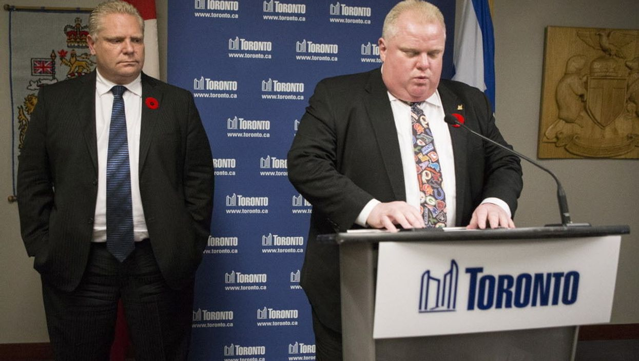 """Former Toronto Mayor Rob Ford's Original """"Crack Confession Tie"""" Is Up For Sale On eBay And The Asking Price Is Ridiculous"""