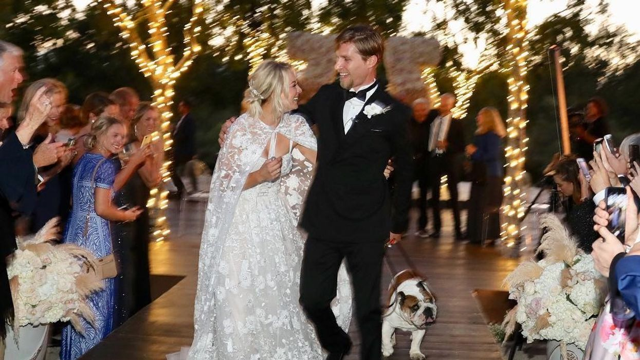 Kaley Cuoco Just Released A Snippet Of Her Wedding Video And It Shows Her Walking Down The Aisle And Saying I Do (VIDEO)