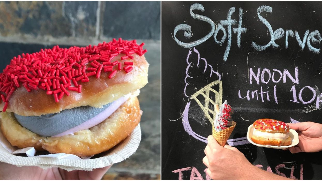 You Can Get Donut Ice Cream Sandwiches In Edmonton And They're The Perfect Summer Treat