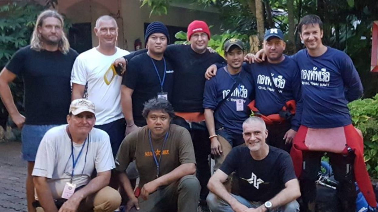 BC Diver Who Rescued Thai Soccer Team Reveals All The Details About The Dangerous Cave Mission