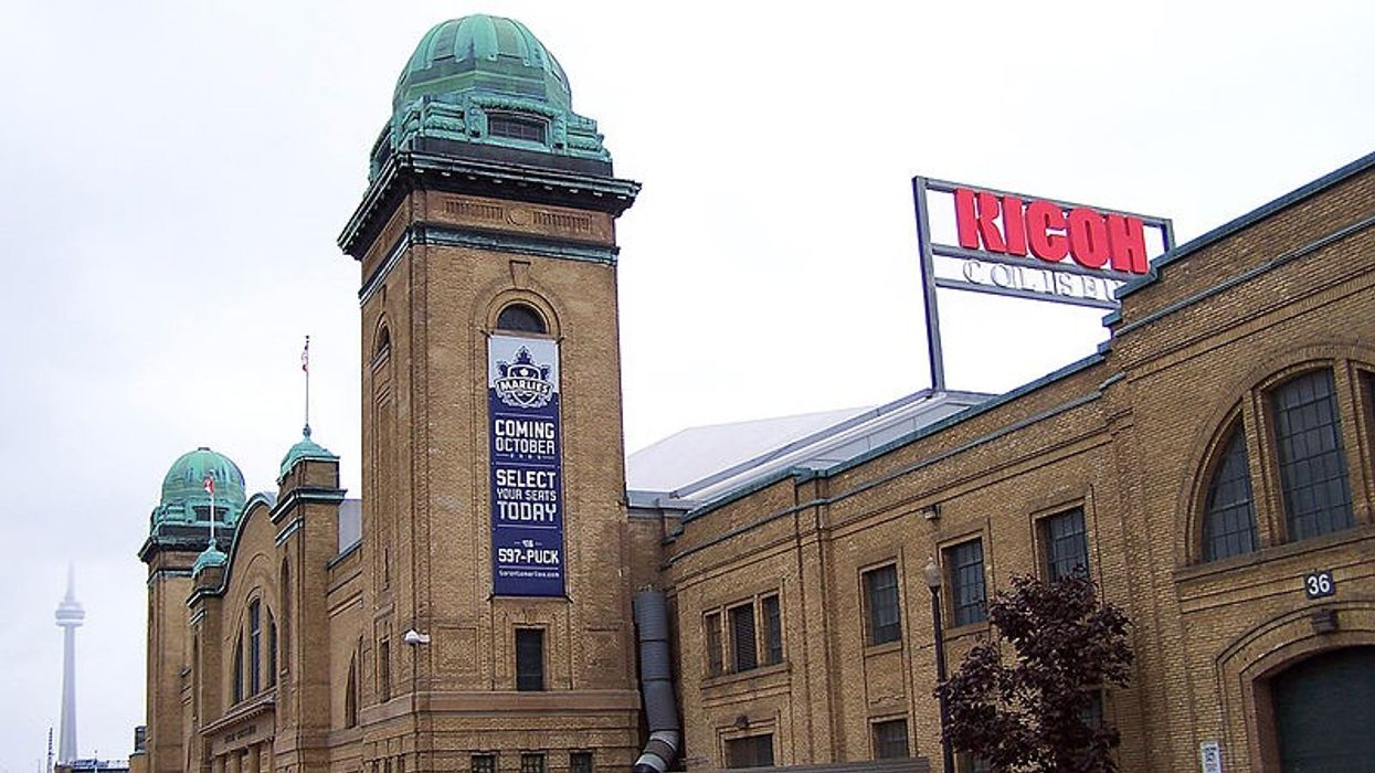 Toronto's Ricoh Coliseum Has Officially Gotten A New Name