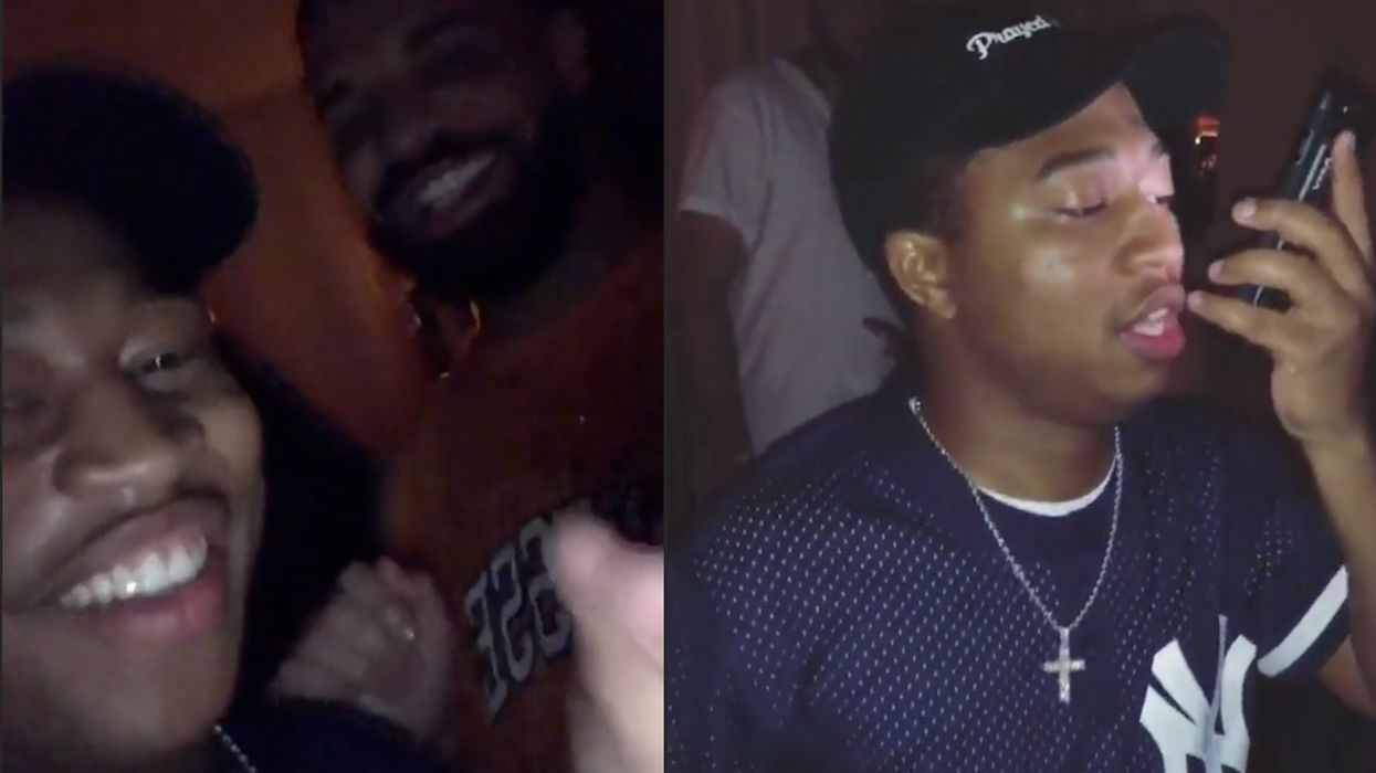 """Drake Finally Met The Guy Who Started The """"In My Feelings"""" Shiggy Dance And Here's What Went Down"""