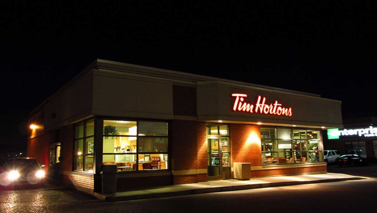 A Woman Attacked A Tim Hortons Worker In Ontario And Someone Caught It From The Drive Thru Window (VIDEO)
