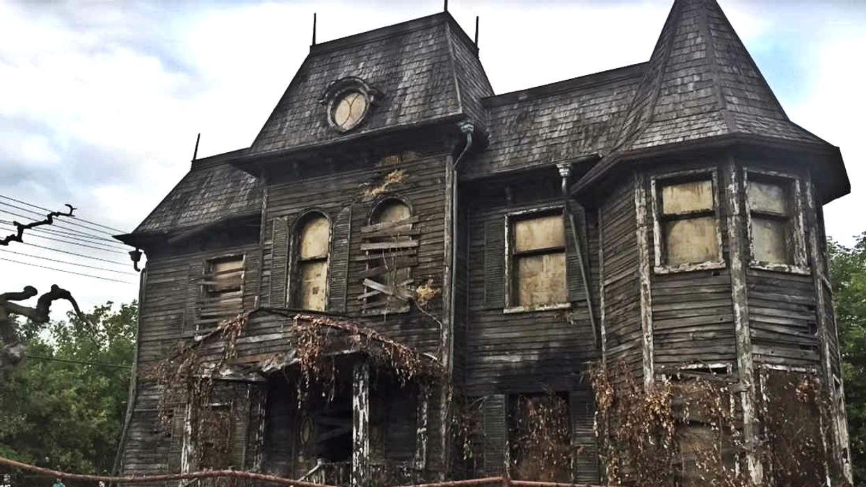 The 'It' House Has Reappeared Near Toronto For The Filming Of Chapter 2