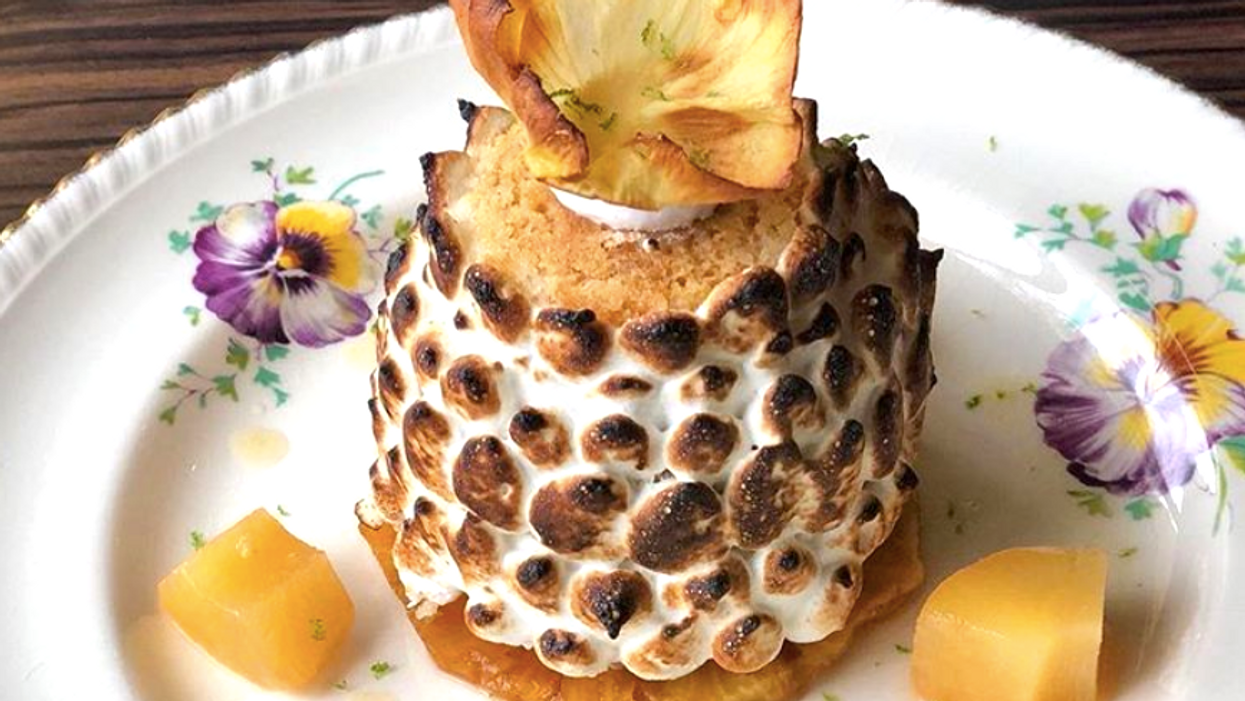 This Vancouver Restaurant Serves A Pineapple Completely Soaked In Rum And It Will Get You Tipsy AF