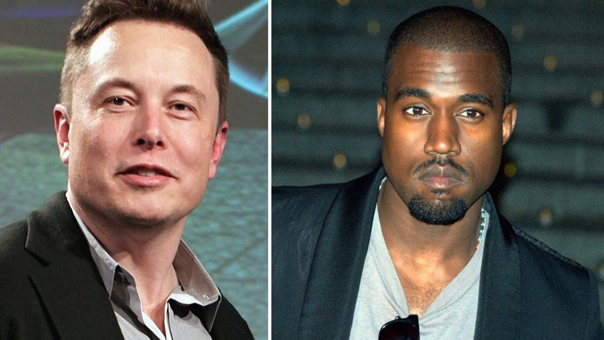 Elon Musk Says Kanye West Is His Biggest Inspiration And People Can't Tell if He's Kidding