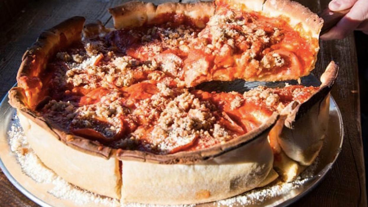 This Hidden Restaurant In Toronto Serves The City's Best Deep Dish Pizza