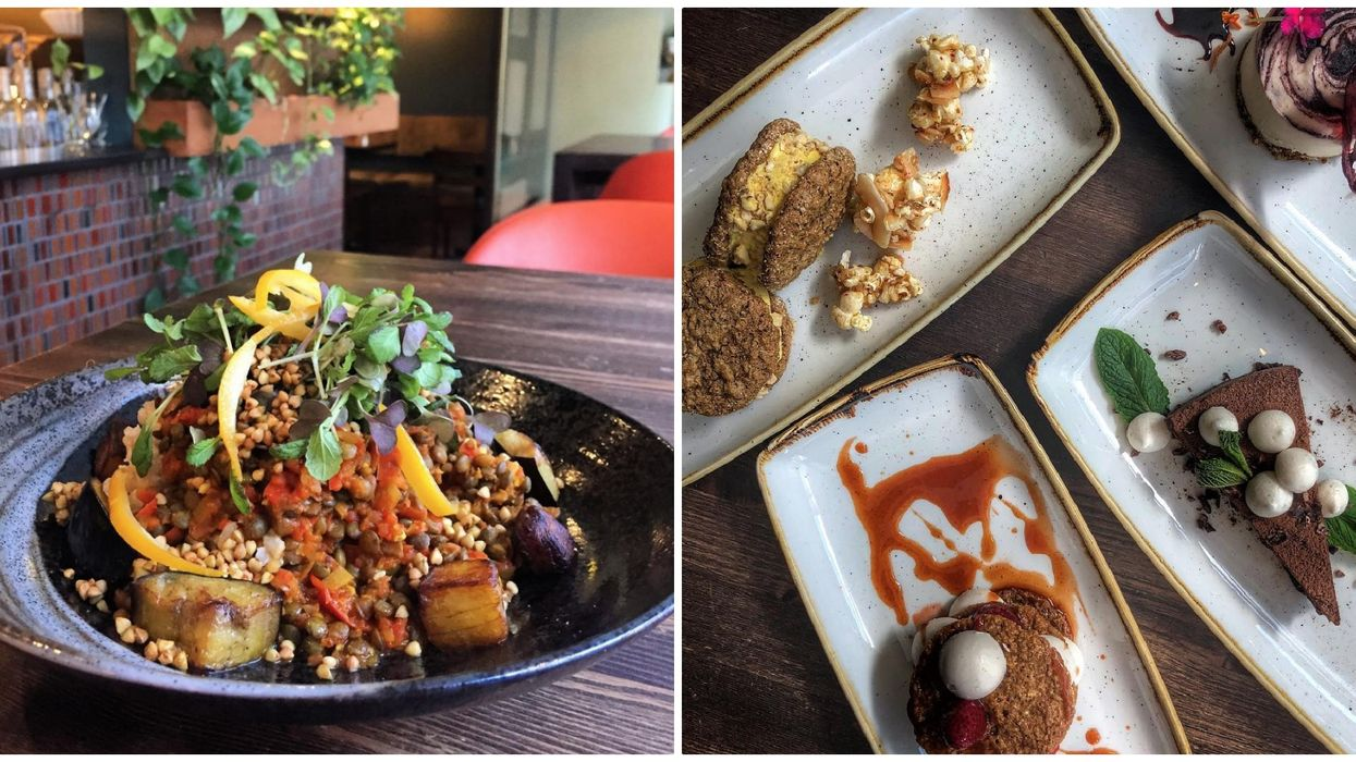 This Vegetarian Restaurant In Calgary Serves Up Food So Good That You Can Bring Your Meat-Lover Friends