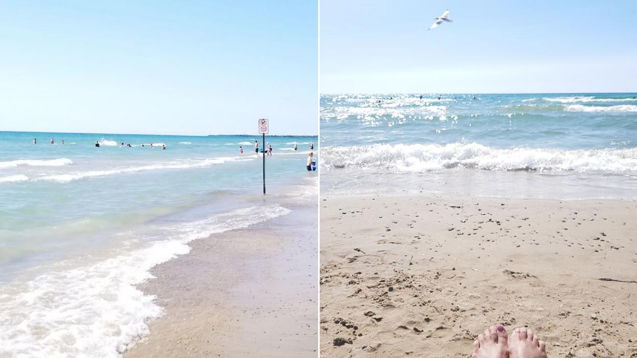 Cette plage de 7 km de sable en Ontario va te donner l'impression d'être à Cuba