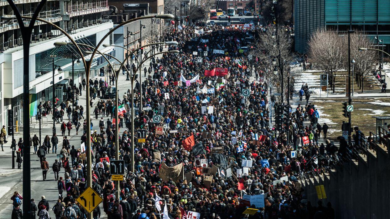 Demain aura lieu à Montréal une des plus grandes manifestations mondiales