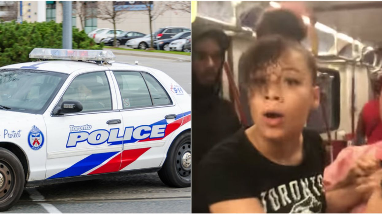 Police Confirm The Racist Woman Who Stole Another Person's Phone On The TTC Has Been Arrested