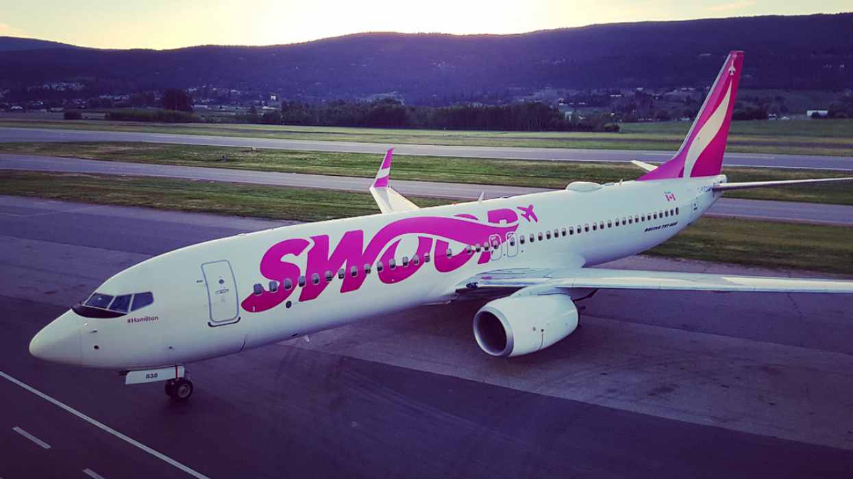 You Can Fly To 5 U.S. Cities From $99 Right Now On Canada's New Low-Cost Airline Swoop