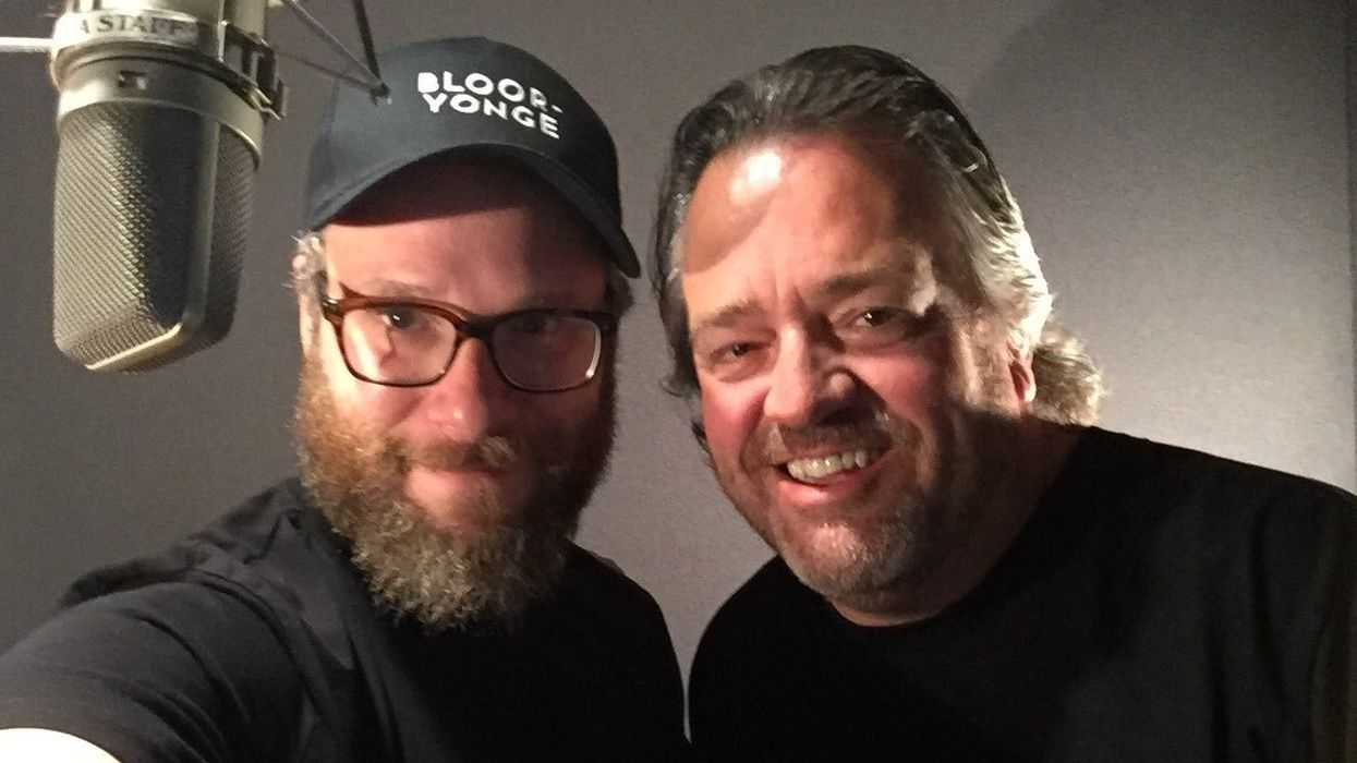 Seth Rogen Officially Recorded Announcements For The TTC And Here's Where You Can Listen To Them Now