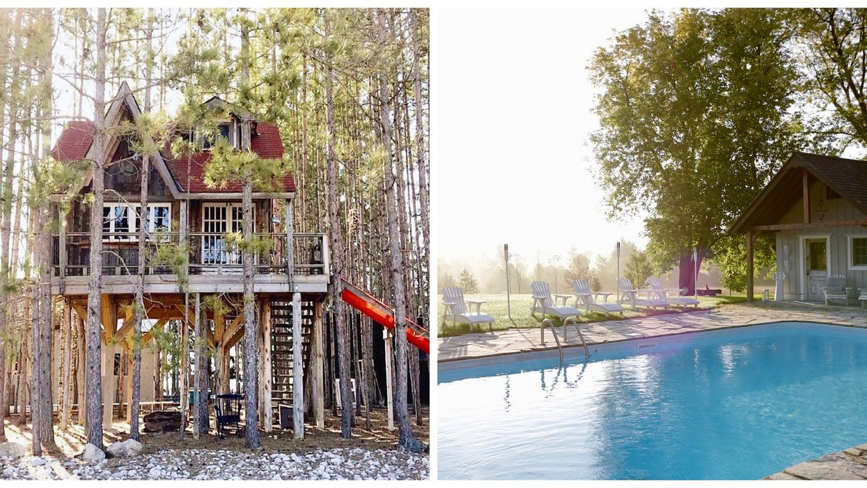 You Can Spend A Luxurious Weekend At This Treehouse Retreat Two Hours From Toronto
