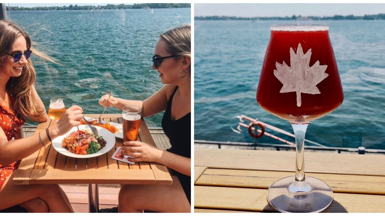 These Toronto Waterfront Patios Have The Most Epic Views of Lake Ontario
