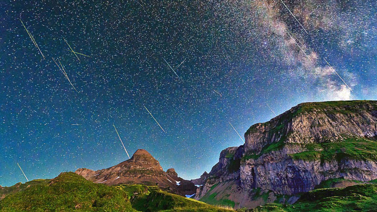 Une magnifique pluie d'étoiles filantes sera visible dans le ciel du Québec cette semaine