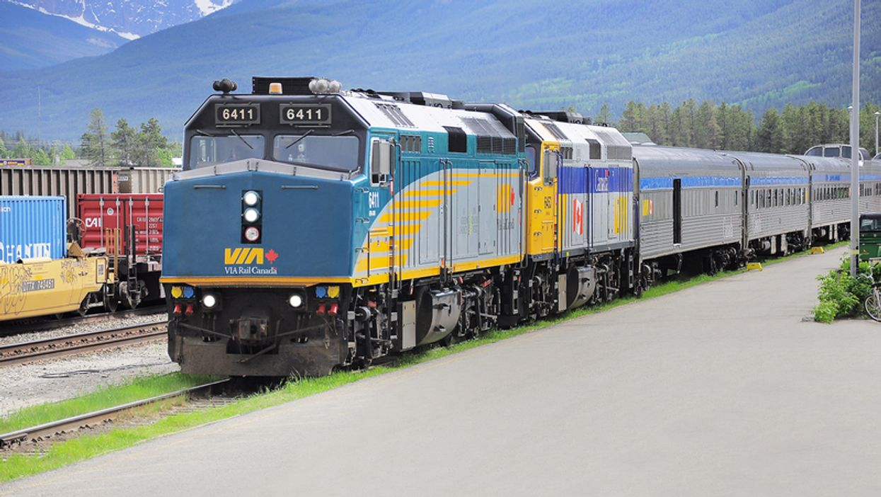 VIA Rail Canada fait des super gros rabais sur des départs de Montréal aujourd'hui